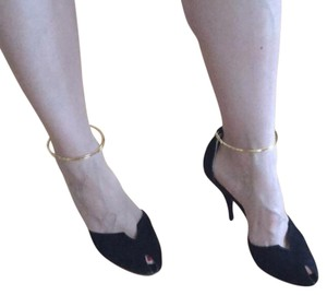 Fendi Balck with gold Pumps