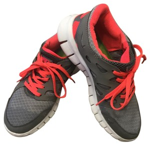 Nike Coral and Gray Athletic