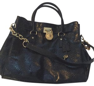 Michael Kors Satchel in Black Patent