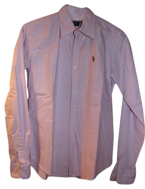 Ralph Lauren Button Down Shirt Lilac