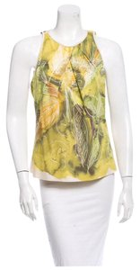 Piazza Sempione Top Green / Yellow / Beige