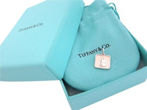 Tiffany & Co. Lexicon T&CO Bag Charm in sterling silver