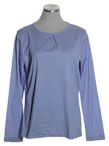 Brooks Brothers Stretch Knit Long Sleeve Tee T Shirt Lavender