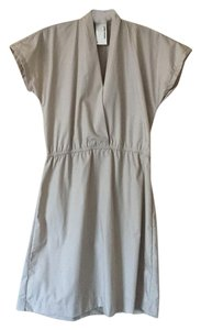 American Apparel short dress Beige on Tradesy