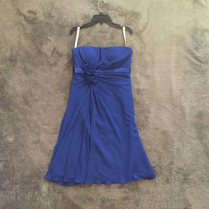 Bill Levkoff Blue Dress