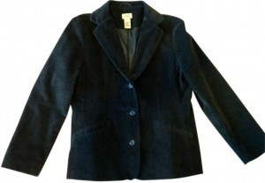 L.L.Bean Dark Blue Blazer