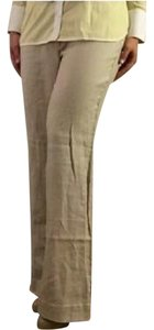Zara Wide Leg Pants Beige