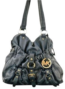 Michael Kors Pebbled Leather Hobo Shoulder Bag