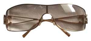 Chanel Chanel gold rimmed sunglasses