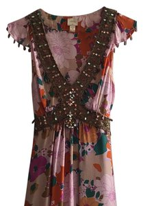 Plenty by Tracy Reese short dress Multi Silk Beaded Anthropologie on Tradesy