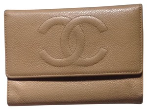 Chanel Auth CC Chanel trifold