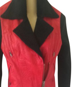 Catherine Malandrino Red Jacket