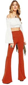 ASOS Flare Pants Rust