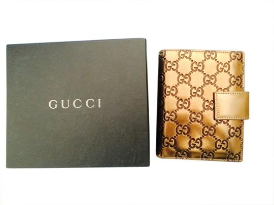 Gucci GUCCI METALLIC GOLD AGENDA