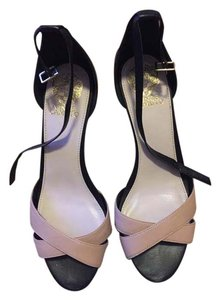 Vince Camuto Black and blush Sandals