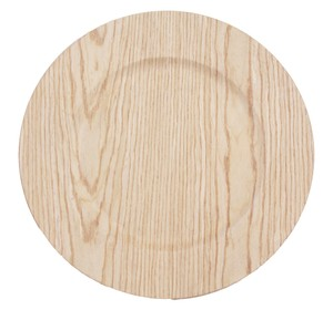 "Wood Natural 48 Pcs X 13"" Reception Dinner Banquet Events Party Tableware"