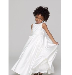 "Watters Diamond White Flower Girl Dress Style ""Ellie"" 