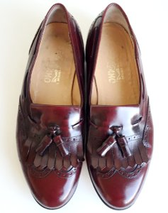 Salvatore Ferragamo Cordovan The Is The Man Shoes