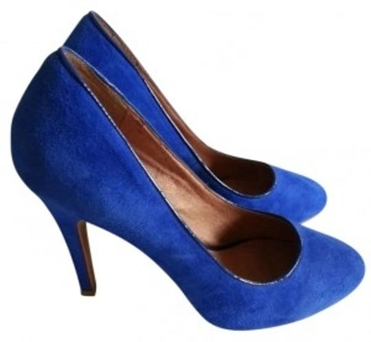 ALDO Suede Cerulean/Blue Pumps