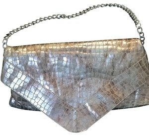 Foley + Corinna Metallic - Silver/Gold Clutch