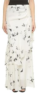 Haute Hippie Maxi Skirt White