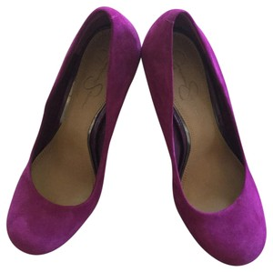 Jessica Simpson Purple Platforms