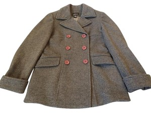 Moda International Night Out Winter Wool Comfortable Pea Coat