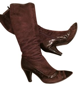 Marc by Marc Jacobs Sexy Fashion City Nyc Leather chocolate brown Boots