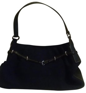 Mondani Faux Suede Shoulder Bag