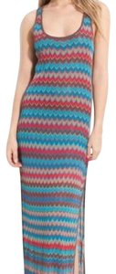 Multicolor Stripes Maxi Dress by Haute Hippie