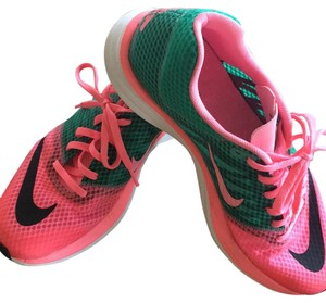 Nike Pink and green Athletic