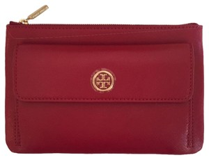 Tory Burch Pouch Wallet Wallet Iphone RASPBERRY Clutch