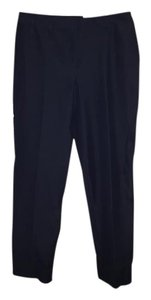 Liz Claiborne Straight Pants Navy