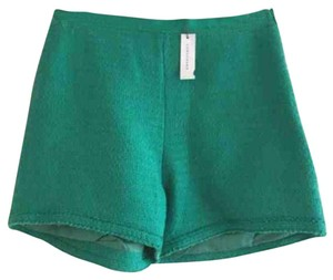 Longchamp Dress Shorts Green