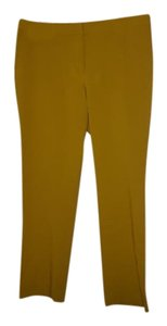 Alfani Trouser Pants Lemon