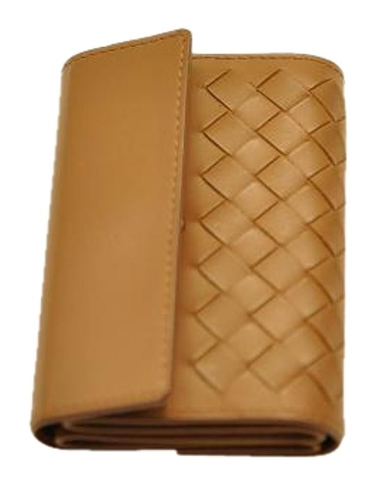 2506e795d15b Bottega Veneta Brown Intrecciato Nappa Card Case Wallet - Tradesy