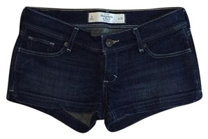 Abercrombie & Fitch Mini/Short Shorts Dark Wash