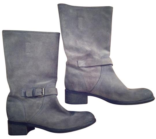 J.Crew Pewter Boots