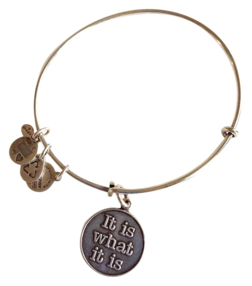 Alex And Ani Lovely Silver Adjule