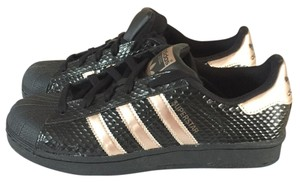 adidas Honeycomb Black rose gold Athletic