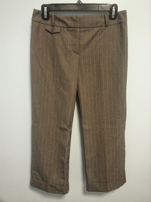 New York & Company NY&Co Cropped Pant Suit