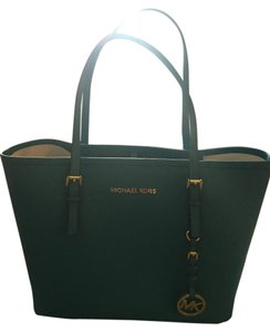 Michael Kors Saffiano Leather Tote in Turquoise