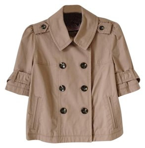 Juicy Couture Trench Cropped Classic Trench Coat