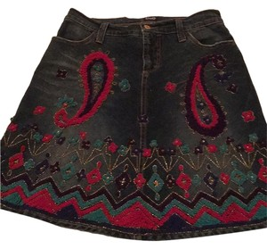 Dolce&Gabbana Mini Skirt Blue jeans