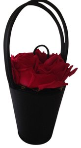 Lulu Guinness Vintage The Flower Basket Tote in Black