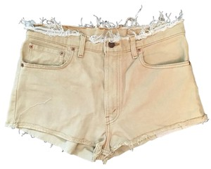 Levi's Vintage Cut Off Shorts Beige