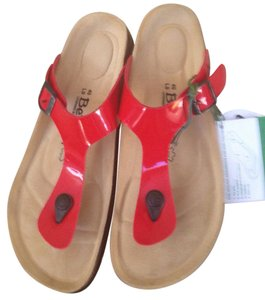 Betula Red Sandals