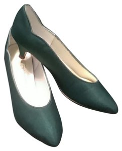 Coloriffics Heels Dyed Green Pumps