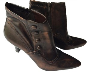 Franco Sarto Vintage Bronze Brown Boots