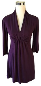 vfish short dress Purple on Tradesy